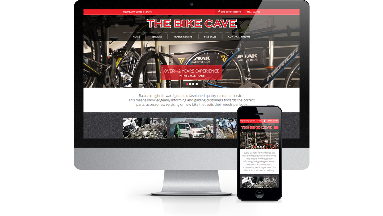 The Bike Cave - Over 12 years experience in the cycle trade